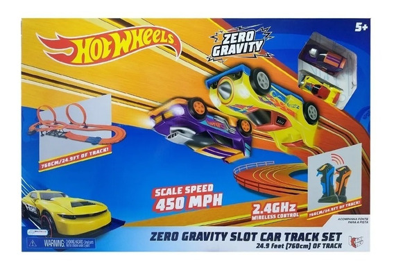 Autorama Pista 760cm Hot Wheels Track Set Zero Gravity Br069