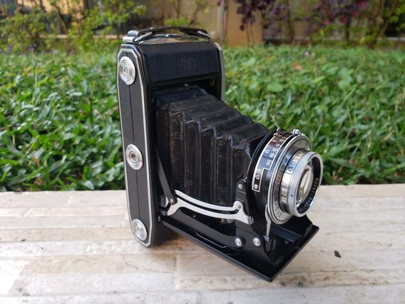 Câmera Fotográfica Zeiss Ikon Nettar Anos 50 Leia O Anuncio