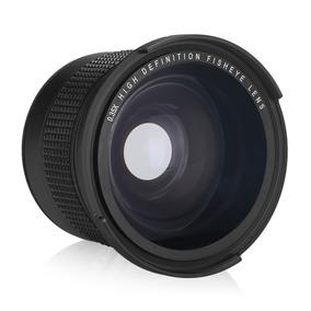 Lente Fisheye Olho De Peixe Rosca 58mm Para Canon Nikon Sony