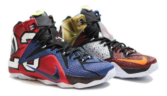 Nike Lebron 12 - 40 41 42 - Pronta Entrega - Com Caixa