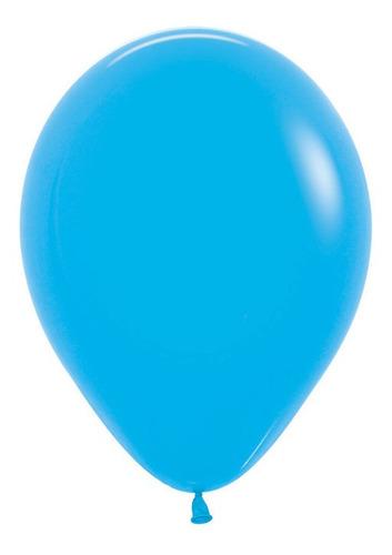 Bolsa Con 50 Globos Azul Tamaño 9 Pulgadas