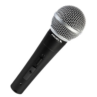 Microfono Dinamico Proel Dm580 Y Cable Xlr Palermo