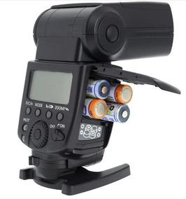 Flash Meike Mk-600 Para Canon Flash De Alta Velocidade Sync