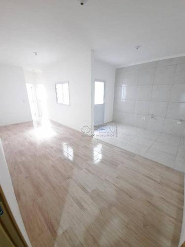 Imagem 1 de 15 de Apartamento Com 2 Dormitórios À Venda, 50 M² Por R$ 225.000 - Vila Príncipe De Gales - Santo André/sp - Ap6539