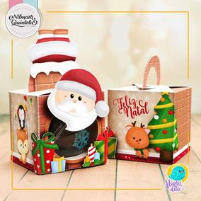Arquivo De Corte Natal Caixa Bola Acrilica