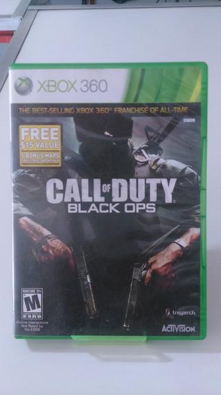Jogo Call Of Duty Black Ops Xbox 360 Original