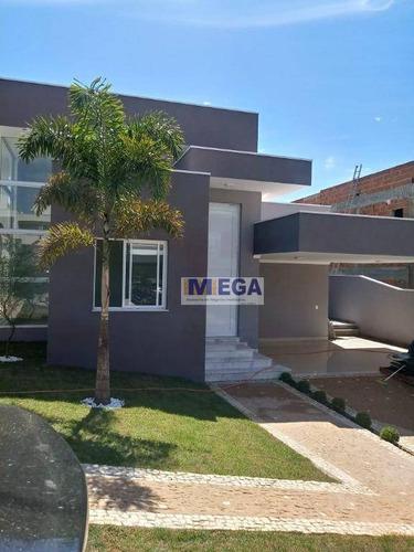 Casa Com 3 Dormitórios À Venda, 198 M² Por R$ 1.300.000,00 - Chácaras Silvania - Valinhos/sp - Ca2343