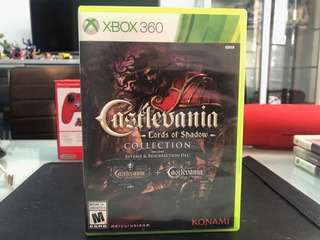 Castlevania Lords Of Shadow Collection Xbox 360 Usado Envios