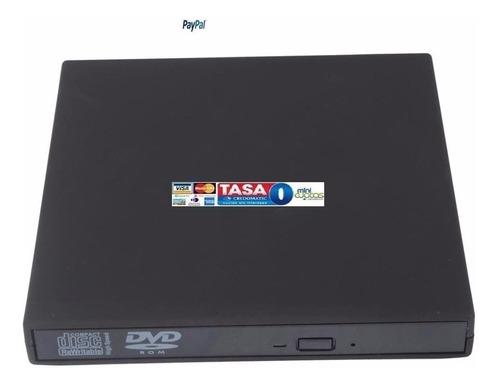 Imagen 1 de 3 de Unidad Externo Usb Laptop Combo Dvd-rom Cd+- Rw Pc Win8 Mac