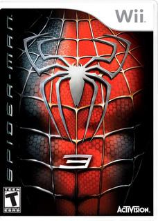 Juego Original Físico Nintendo Wii Spider Man 3