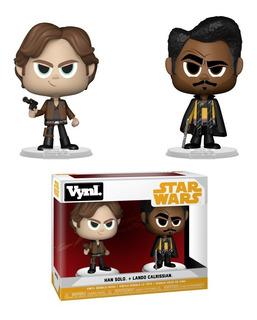 Funko Vynl - Han Solo Y Lando 2 Pack - Star Wars Original