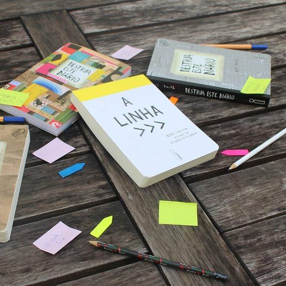Livro A Linha De Keri Smith Editora Intrínseca - The Line