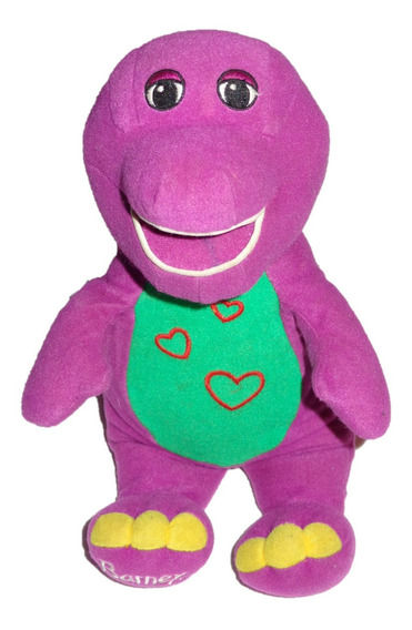 Barney Peluche Con Luz Y Sonido I Love You Fisher Price 2003
