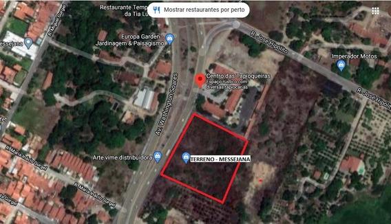 Aluguel Terreno Em Messejana/coaçu, Ao Lado Das Tapioqueiras