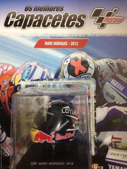 Miniatura Capacete Motogp Marc Marquez 2012 Escala 1:5