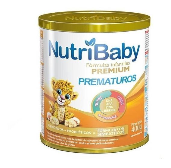 Leche de fórmula en polvo Ethical Pharma NutriBaby Prematuros en lata de 400g