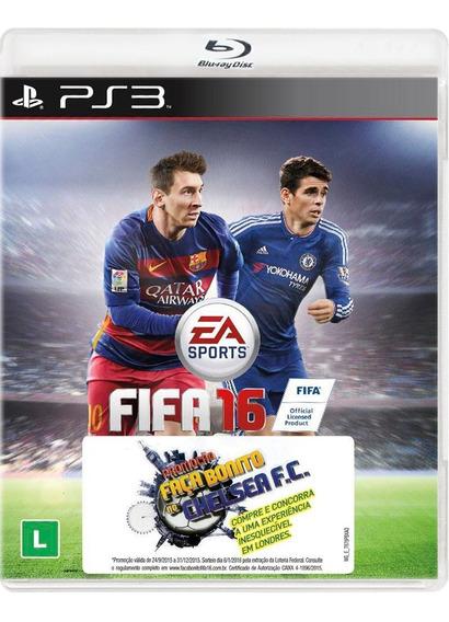 Fifa 16 - Playstation 3 - S. G.