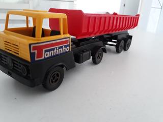 Miniatura Carrinh Caminhão Tantinho Estrela Plástico Coleção