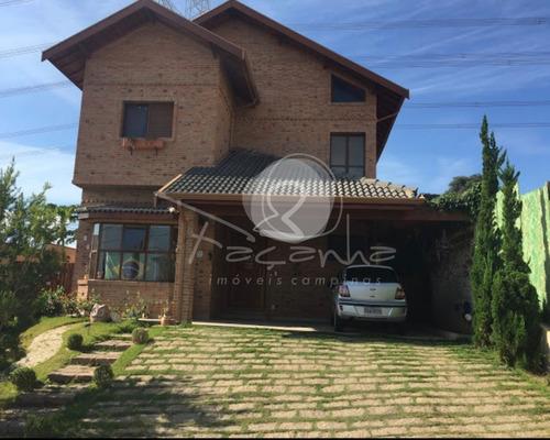 Imagem 1 de 28 de Casa Para Venda Próximo Ao Alphaville No Parque Das Quaresmeiras Em Campinas - Imobiliária Em Campinas - Ca01079 - 69795849