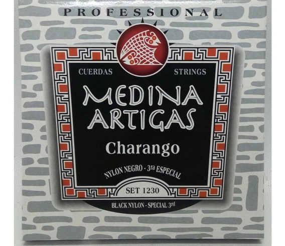 Encordado Charango M.artigas Nylon Mod Set 1230 3º Especial
