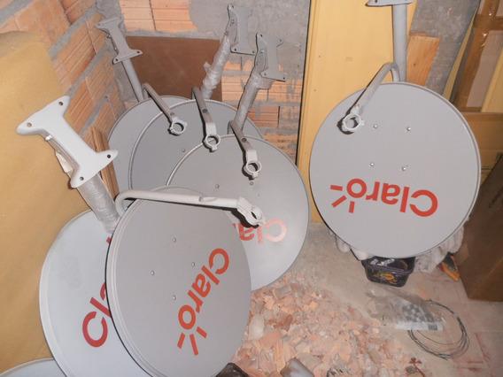Kit 3 Antenas Ku 60cm Não Faço Envio Só Retirada Leia Antes