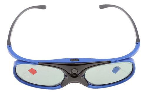 Imagen 1 de 10 de Gafas 3d Con Enlace Dlp Recargable Para Todos Los