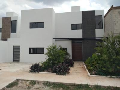 Renta Casa Nueva En Bosques De Conkal Zona Altbrisa C/alberc
