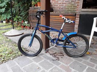 Bicicleta Spiderman 6 A 8 Años