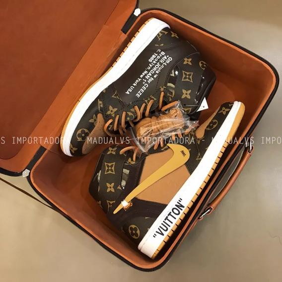 Tênis Louis Vuitton X Nike Air Jordan - Frete Grátis