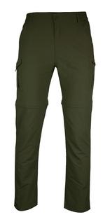 Pantalón Trekking Desmontable Upf50 Secado Rápido Hombre