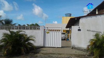 Casa Com Piscina E Churrasqueira À Venda Por R$ 280.000 - Praia Do Amor - Conde/pb - Ca0471