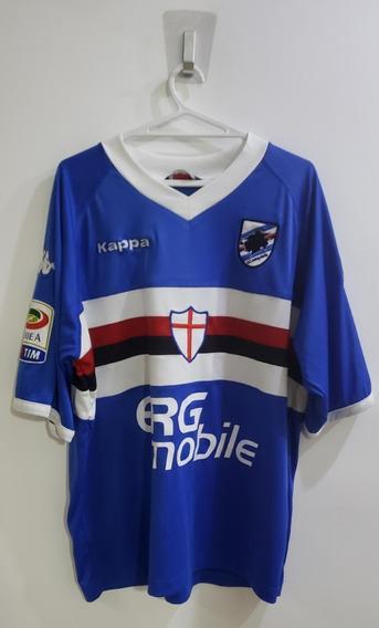 Camisa Original Sampdoria Cassano 2009/2010 - Raridade !!!