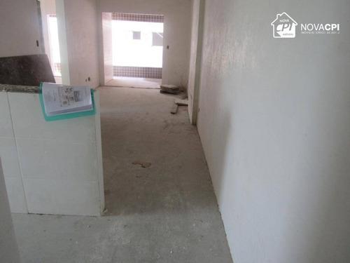 Apartamento Com 2 Dormitórios À Venda, 69 M² Por R$ 421.083 - Boqueirão - Praia Grande/sp - Ap10306