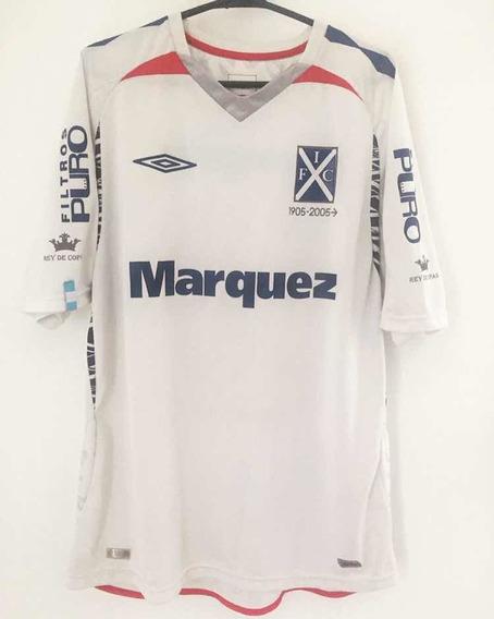 Camiseta Independiente Umbro 2008 #10 Rolfi Montenegro