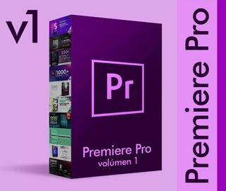 Premiere Pro Vol. 1 Transiciones Librerias Efectos Presets