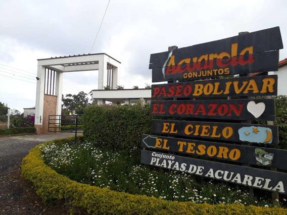 En Venta Parcela Mesa De Los Santos Acuarela