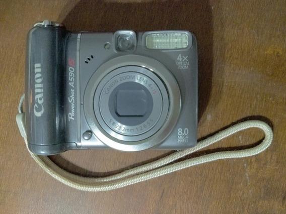 Cámara Canon Powershot A590is 8.0 Mp. 4x Zoom Óptico