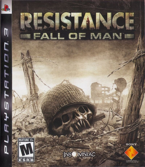 Jogo Resistance Fall Of A Man Playstation 3 Ps3 Mídia Física