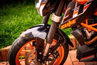 Extensor De Guarda Barro Ktm Duke 200