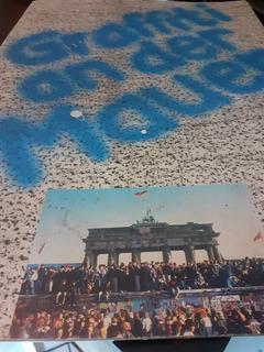 Poster Muro De Berlim Graffiti An Der Mauer
