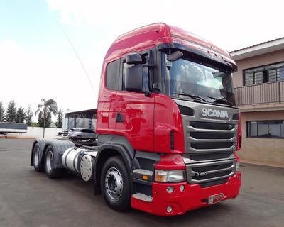 Caminhão Scania R480 6x4 2012/12 De Santi Caminhões