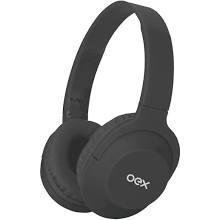 Oex Headset Flow Cinza Bluetooth