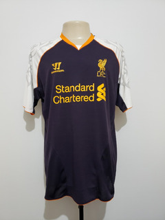 Camisa Oficial Liverpool Inglaterra 2012 Third Warrior