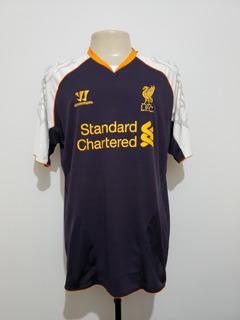 Camisa Futebol Liverpool Inglaterra 2012 Third Warrior