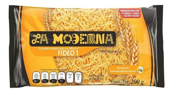 Sopa De Fideo La Moderna No.1 200 Gr