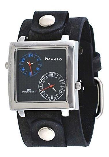 Nemesis Nfbb219l - Reloj De Doble Huso Horario, Banda Ancha