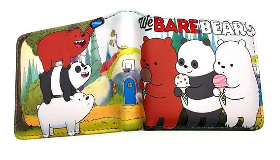 Billetera Osos Escandalosos We Bare Bears