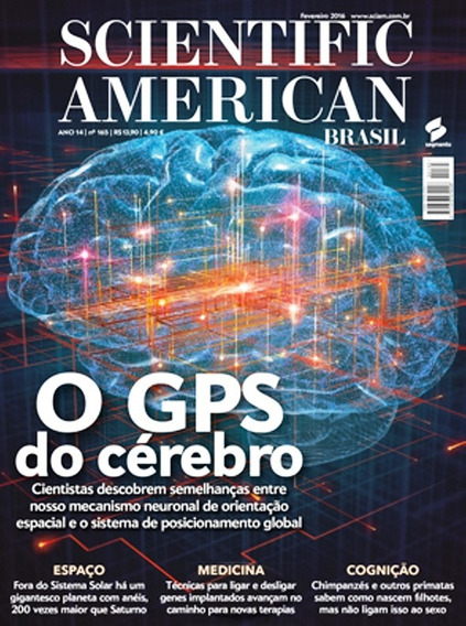 Revista Scientific American O Gps Do Cérebro - 2016 - Nº165
