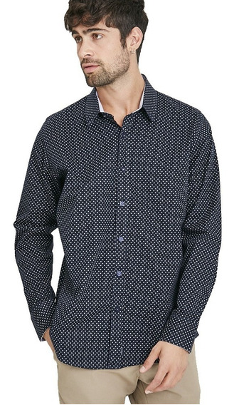 Camisa Manga Larga Aeron Hombre | Taverniti (22900)