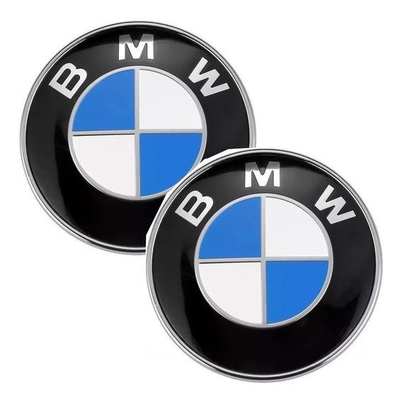 Emblemas Chave Bmw 14mm Base Em Alumínio Excelente Qualidade
